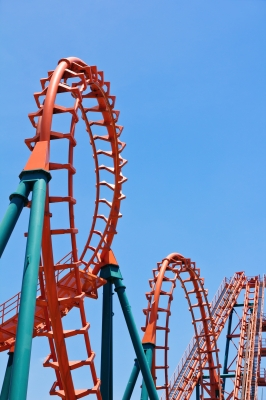 roller coaster  by ponsulak
