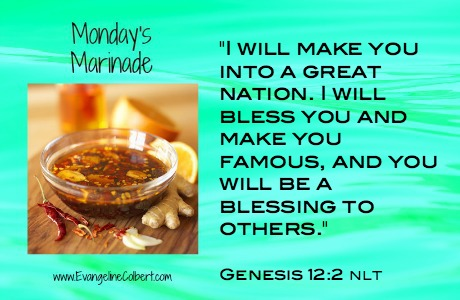 Monday's Marinade for your nation